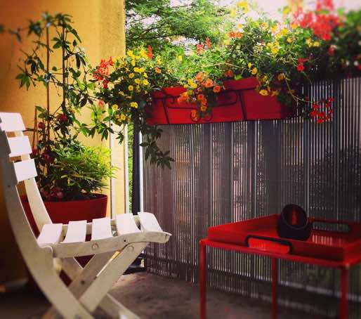aménagement d'une terrasse à Paris